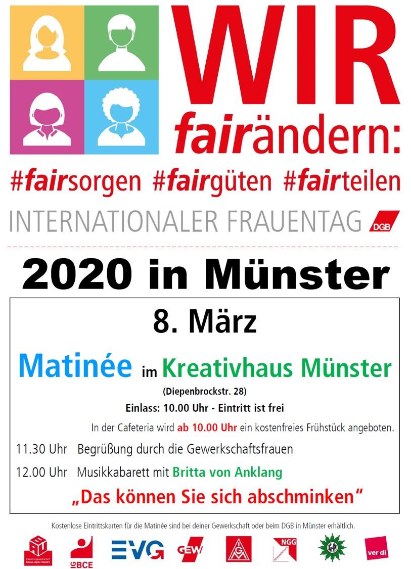 Internationaler Frauentag in Münster