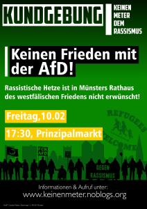 Flyer Kundgebung AfD-Neujahrsempfang Münster 10.02.2017