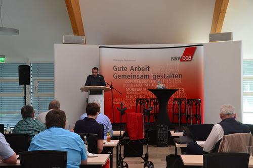 Begrüßung Winfried Lange