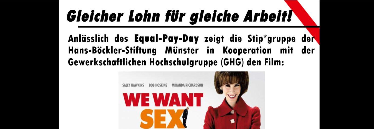 Werbeplakat zum Kino-Event