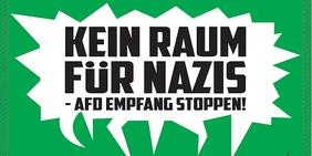 "Bündnis ""Keinen Meter den Nazis"""