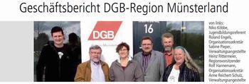 Geschäftsbericht DGB-Region Münsterland