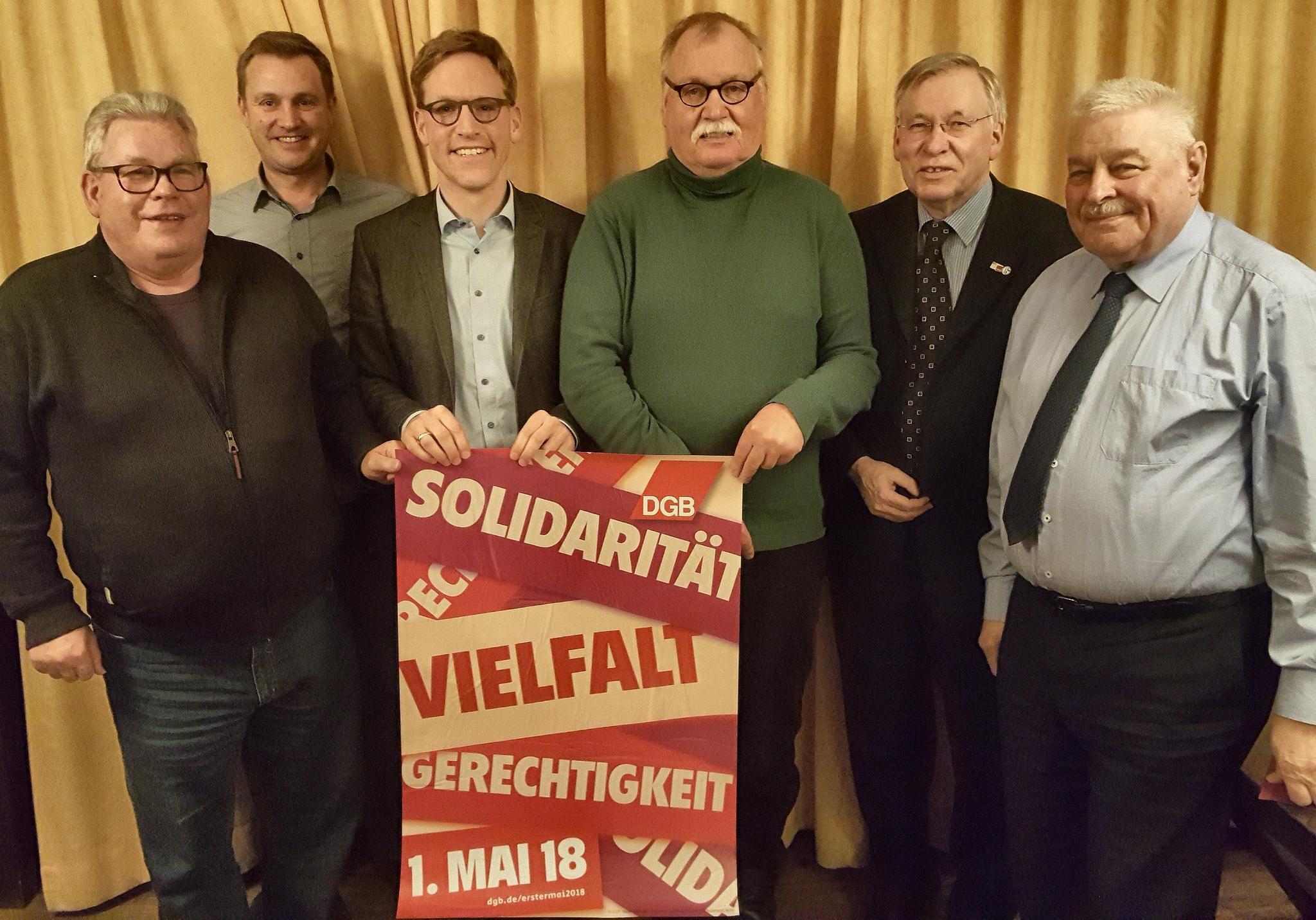 Gespräch KV Coesfeld mit MdB Henrichmann