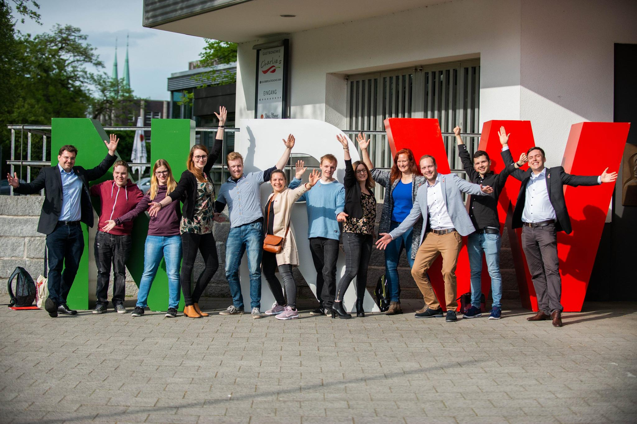 Gruppenbild DGB-Münsterland