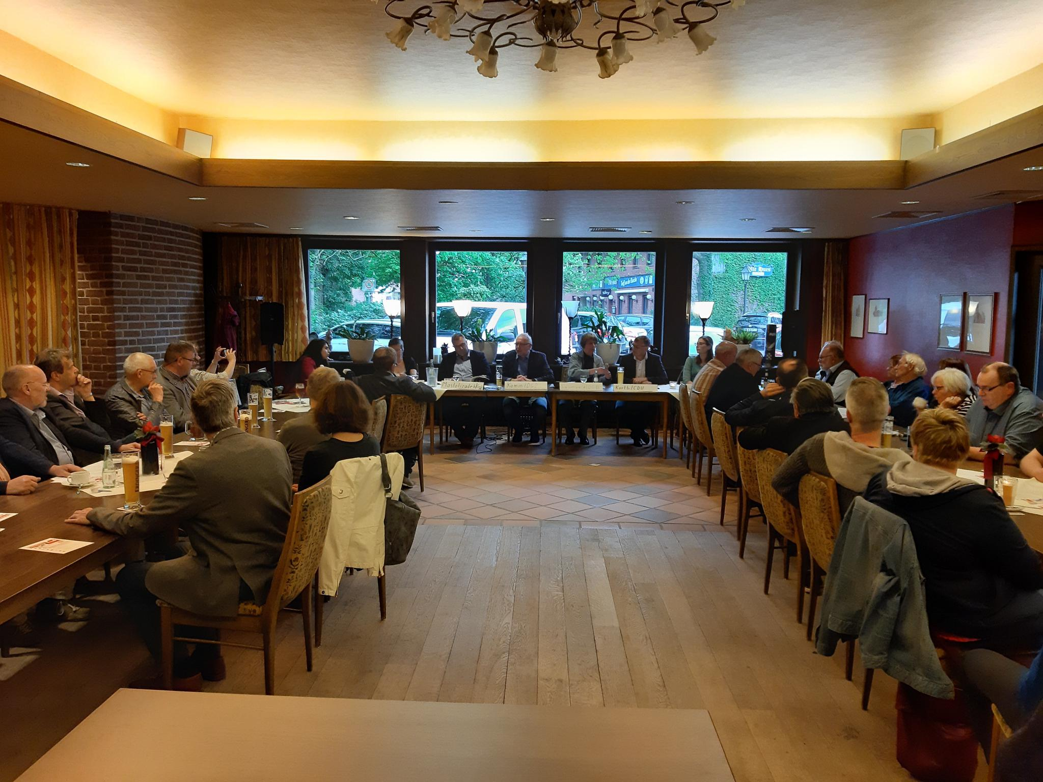 Podiumsdiskussion in Südlohn-Oerding