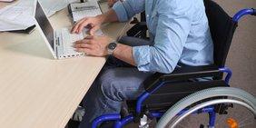 Arbeiten mit Behinderung