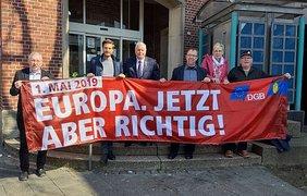 """DGB Dülmen möchte den Arbeitnehmerempfang wie immer in der """"alten Sparkasse"""" durchführen"""
