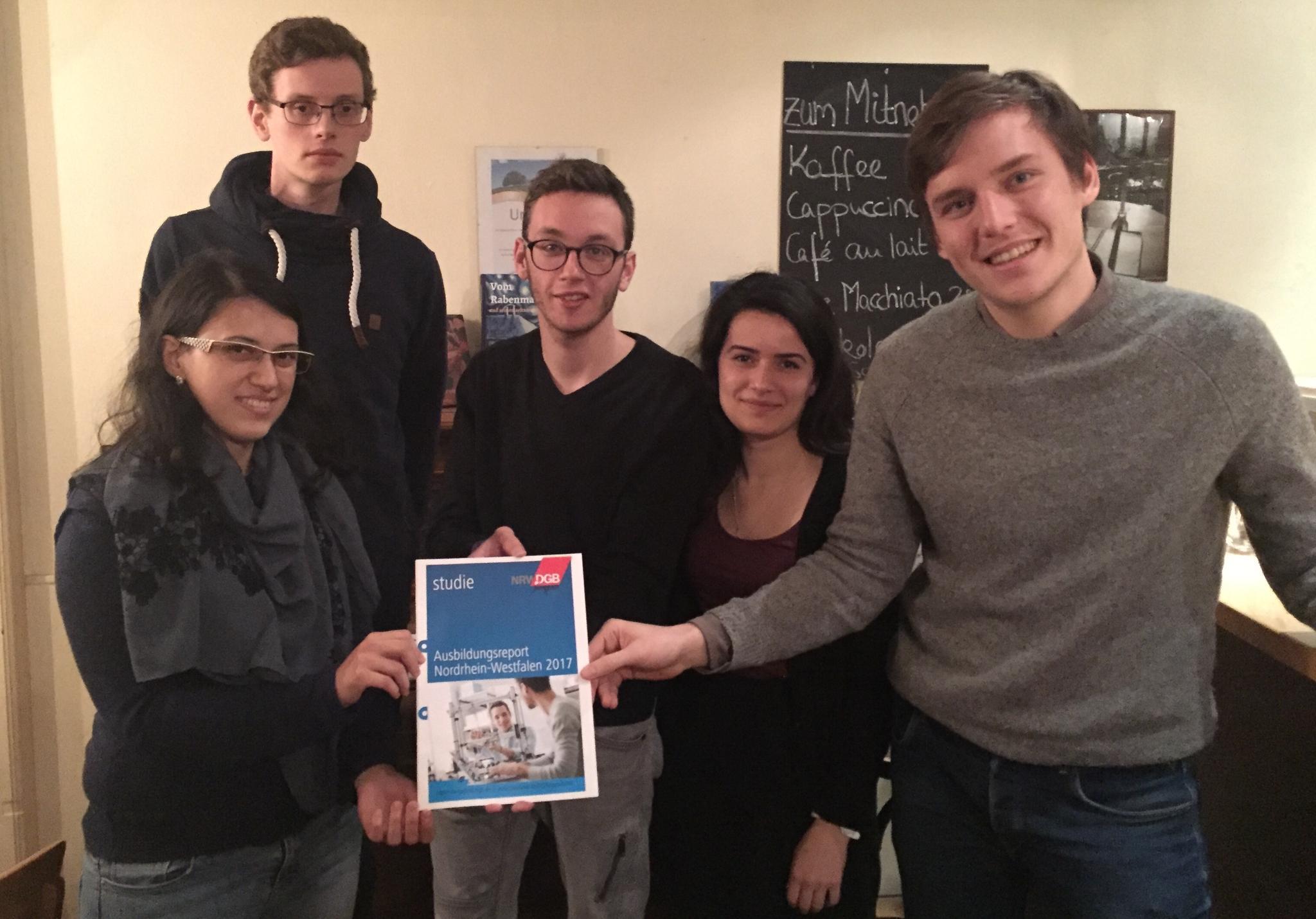 DGB-Jugend Münsterland zum Ausbildungsreport