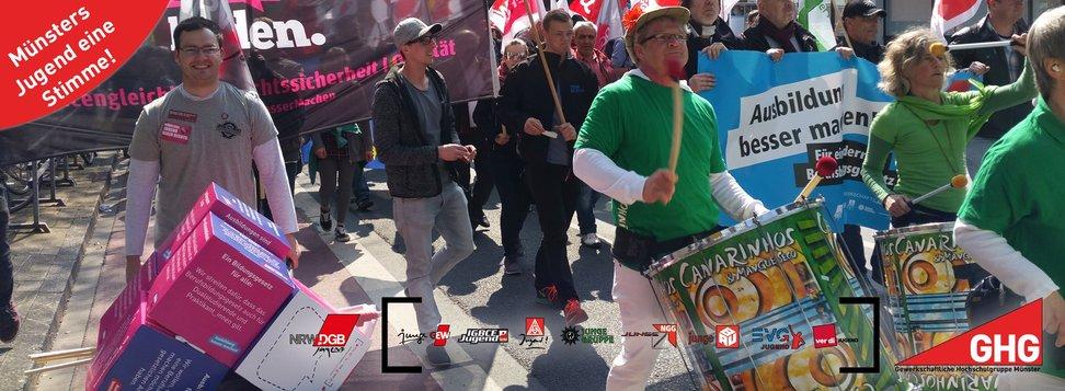 Demonstration 1. Mai 2016